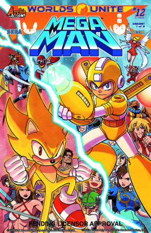 Mega Man #52 (Reilly Brown Cover)