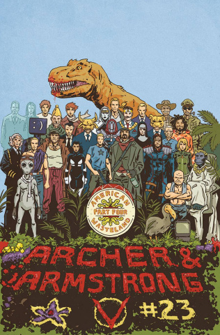 Archer & Armstrong #23 (Walsh Cover)