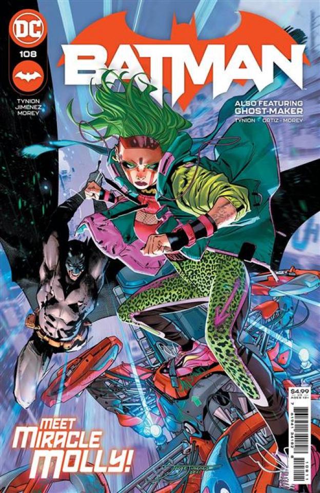 Batman #108 (Jorge Jimenez Cover)