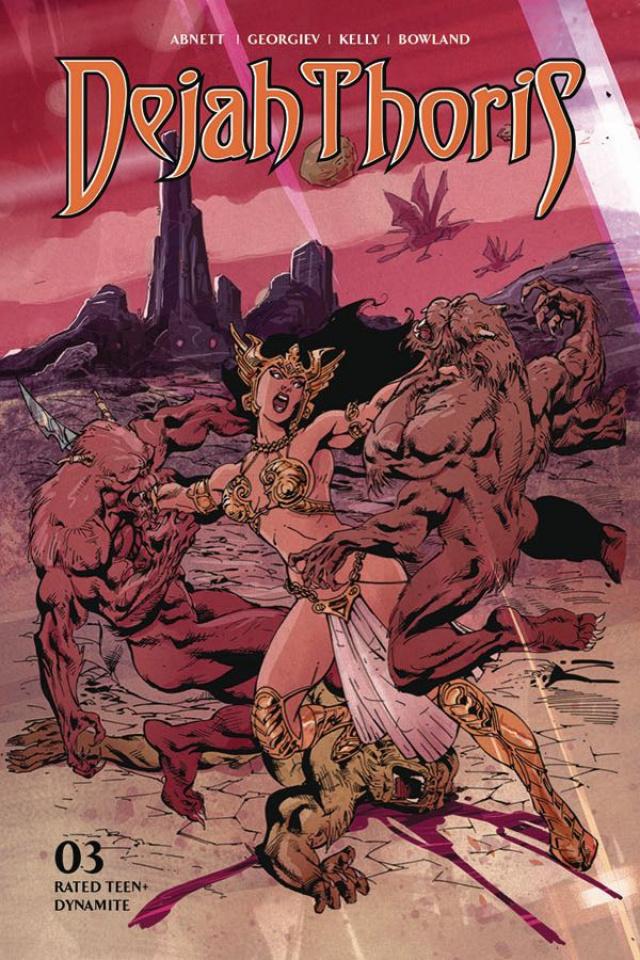 Dejah Thoris #3 (Castro Bonus Cover)