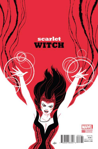 Scarlet Witch #3 (Cho Cover)