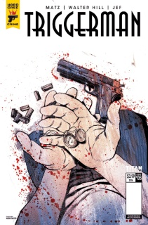 Hard Case Crime: Triggerman #5 (Chater Cover)