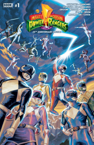 Mighty Morphin' Power Rangers Anniversary Special #1