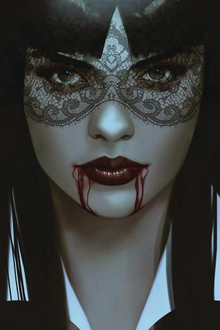 Vengeance of Vampirella #5 (Oliver Virgin Cover)