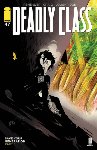 Deadly Class #47 (Craig & Wordie Cover)