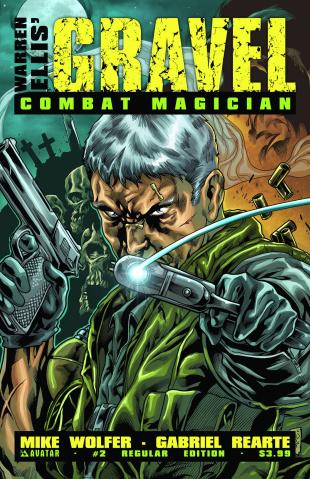 Gravel: Combat Magician #2