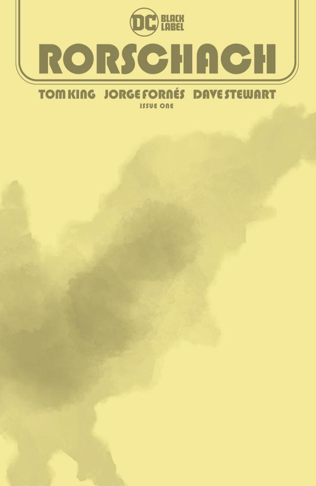 Rorschach #1 (Blank Cover)
