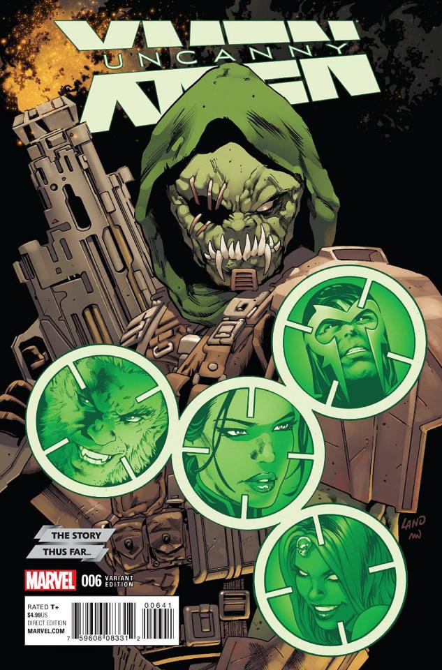 Uncanny X-Men #6 (Story Thus Far Cover)