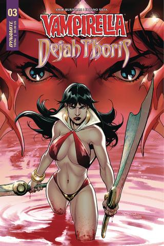 Vampirella / Dejah Thoris #3 (Segovia Cover)