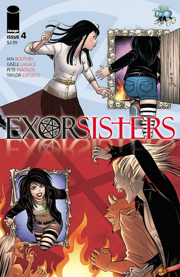 Exorsisters #4 (Lagace & Pantazis Cover)