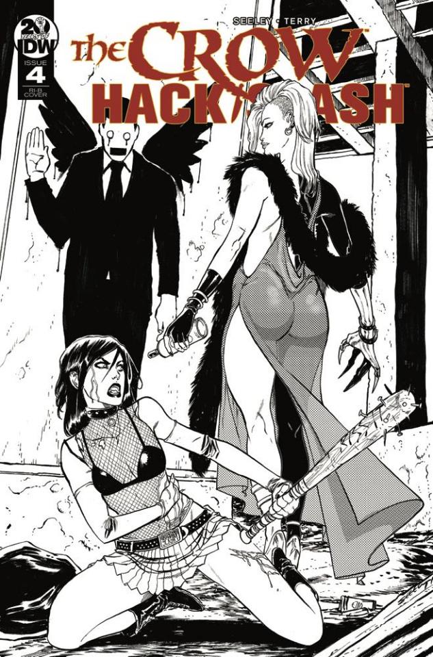 The Crow / Hack/Slash #4 (20 Copy Seeley Cover)