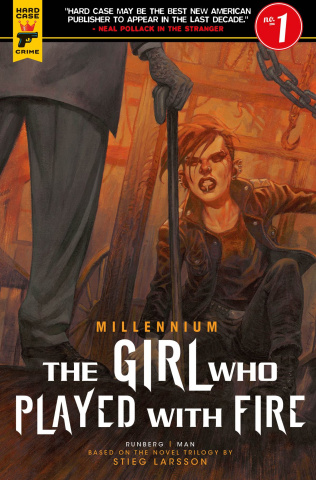 The Girl Who Played With Fire #1 (Book Cover)