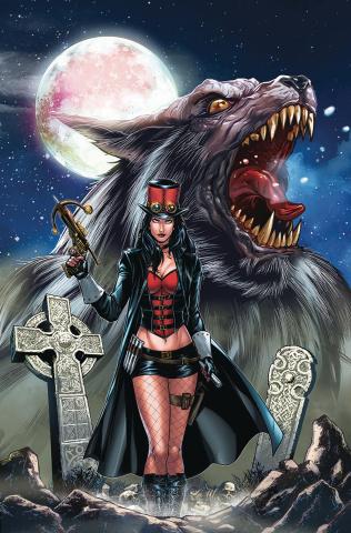 Van Helsing vs. The Werewolf #6 (Riveiro Cover)