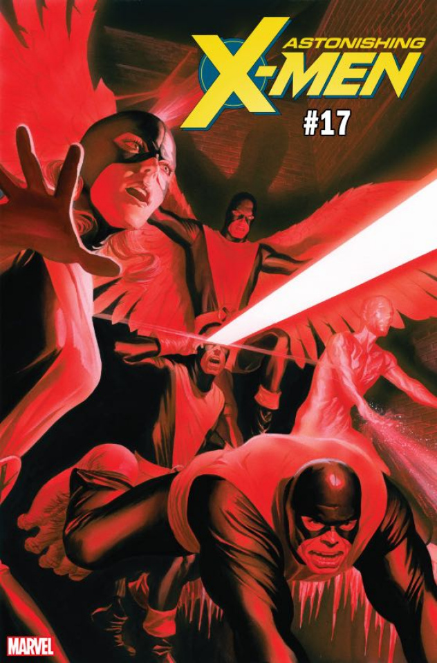 Astonishing X-Men #17 (Ross Uncanny X-Men Cover)
