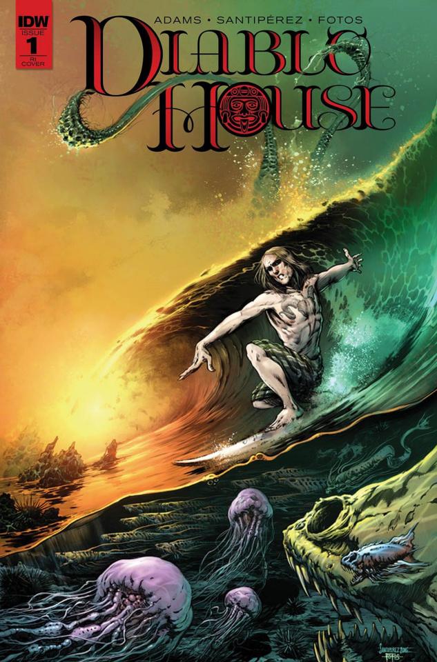 Diablo House #1 (5 Copy Cover)