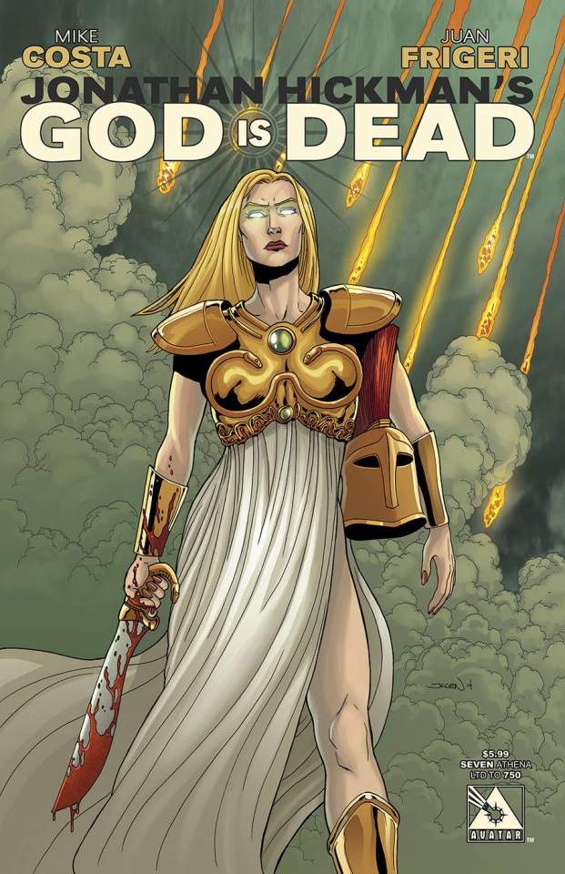 God Is Dead #7 (Athena Cover)