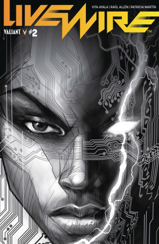 Livewire #2 (20 Copy B&W Pollina Cover)
