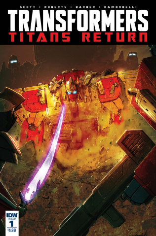 The Transformers: Titans Return #1