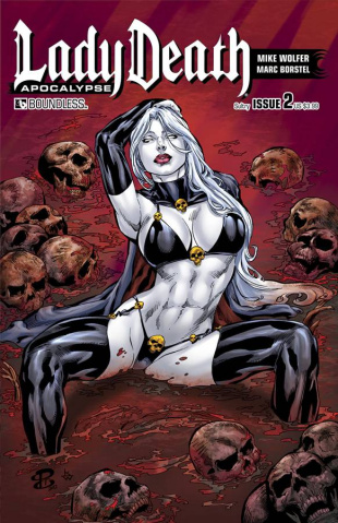 Lady Death: Apocalypse #2 (Sultry Cover)