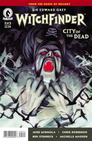 Witchfinder: City of the Dead #5