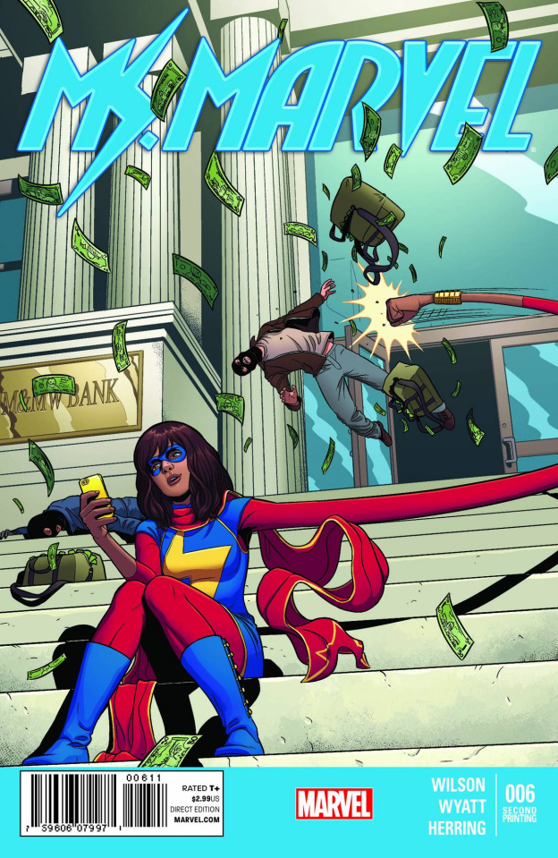 Ms. Marvel #6 (2nd Printing)