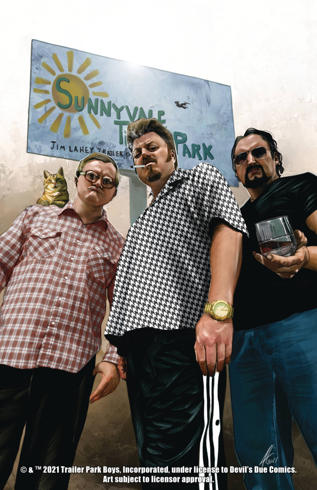 The Trailer Park Boys Get a F#Ing Comic Book #1 (Herrera Cover)