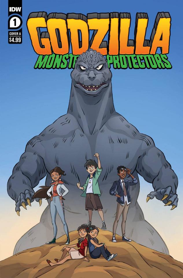 Godzilla: Monsters & Protectors #1 (Dan Schoening Cover)