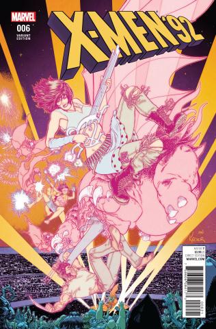 X-Men '92 #6 (Kuder Cover)