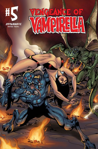 Vengeance of Vampirella #5 (Castro Color Bonus Cover)