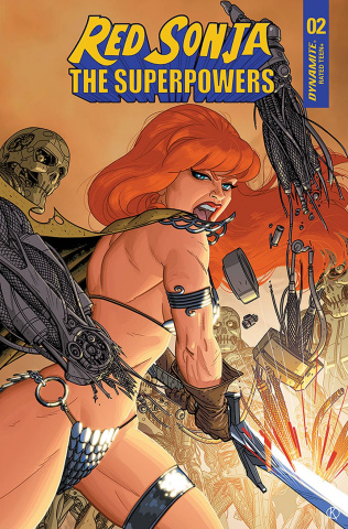 Red Sonja: The Superpowers #2 (15 Copy Kano Cover)