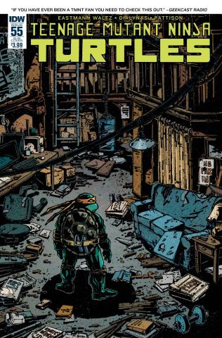 Teenage Mutant Ninja Turtles #55 (Subscription Cover)