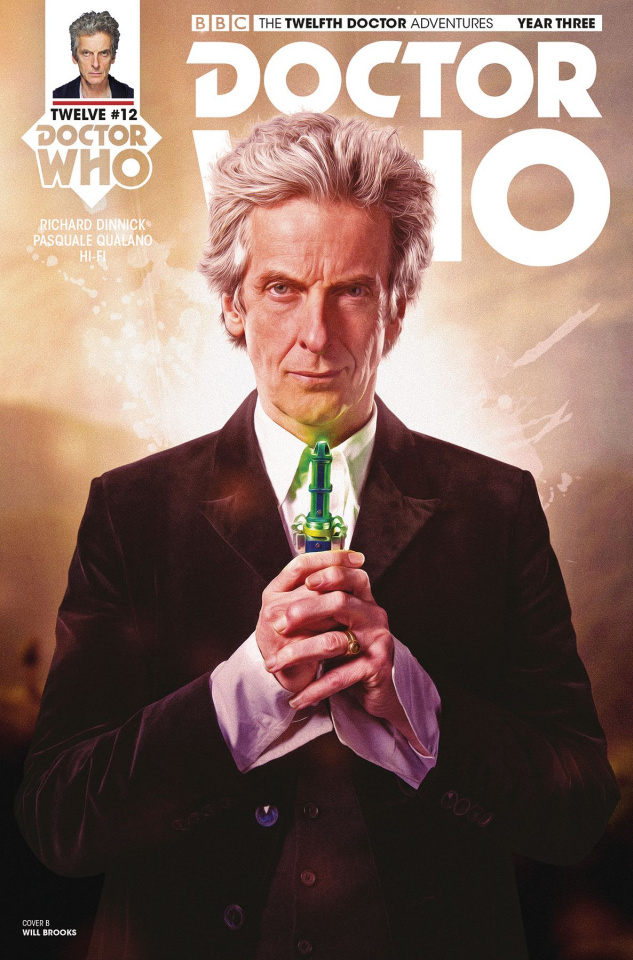 Doctor Who: The Twelfth Doctor Adventures, Year Three #12 (Photo Cover)