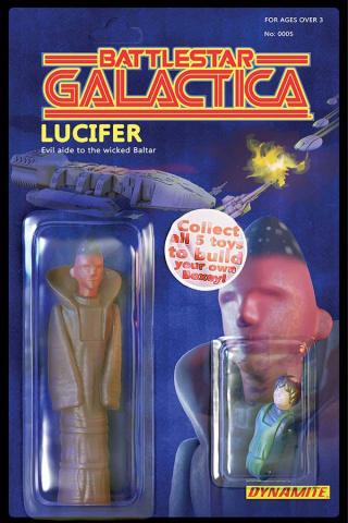 Battlestar Galactica #5 (Action Figure Cover)