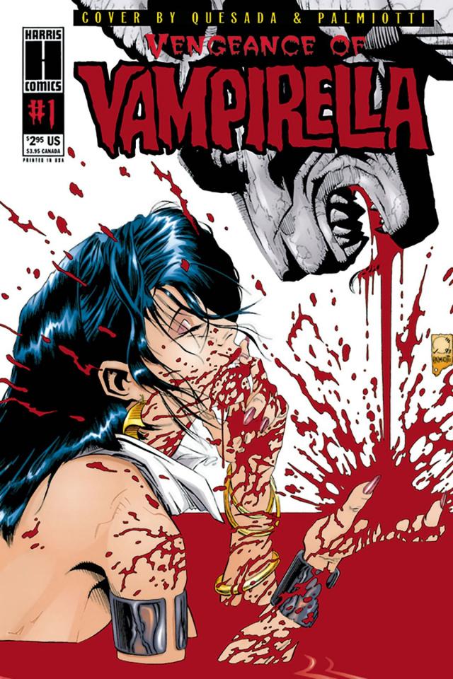 Vengeance of Vampirella: 1994 #1 (Replica Ediition)
