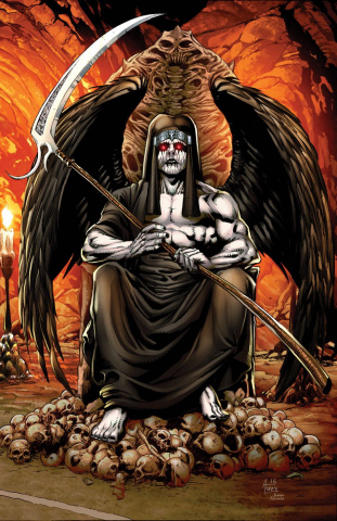 Grimm Fairy Tales: Satan's Hollow #5 (Spay Cover)