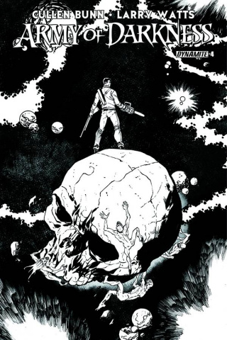 Army of Darkness #4 (15 Copy Seeley B&W Cover)