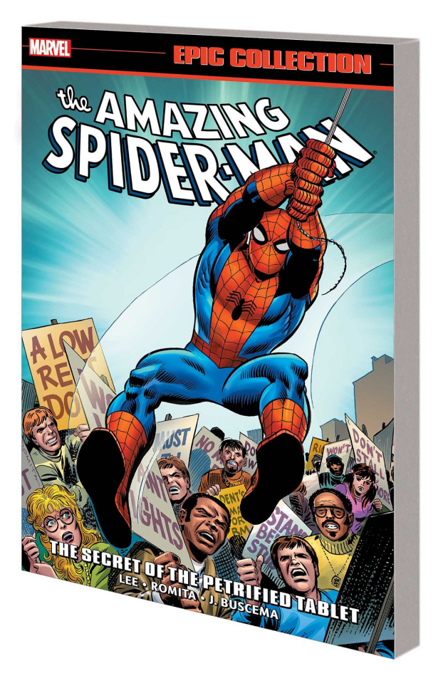 The Amazing Spider-Man: The Secret of the Petrified Tablet (Epic Collection)