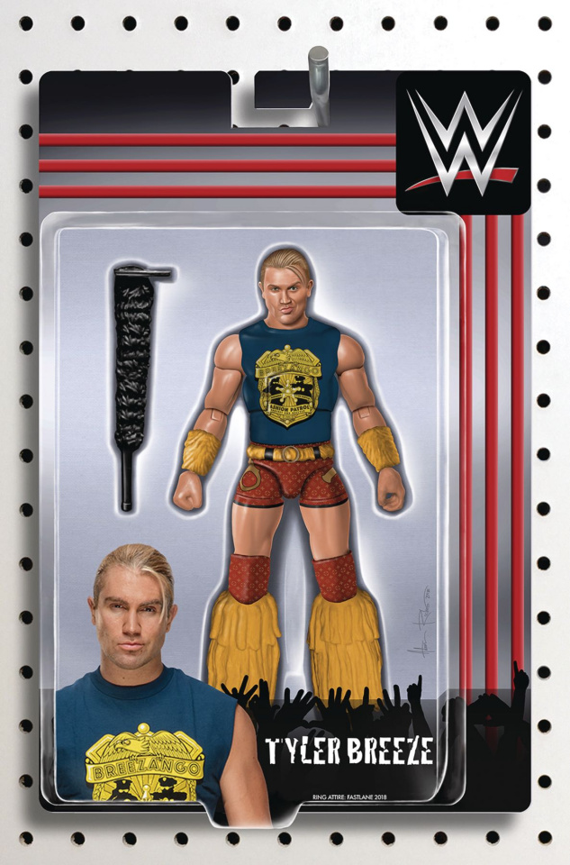WWE #21 (Riches Action Figure Cover)