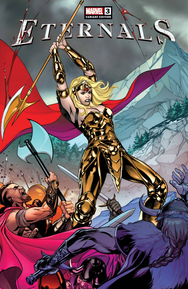 Eternals #3 (Lupacchino Cover)
