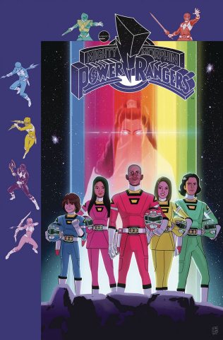 Mighty Morphin' Power Rangers #29 (Subscription Gibson Cover)