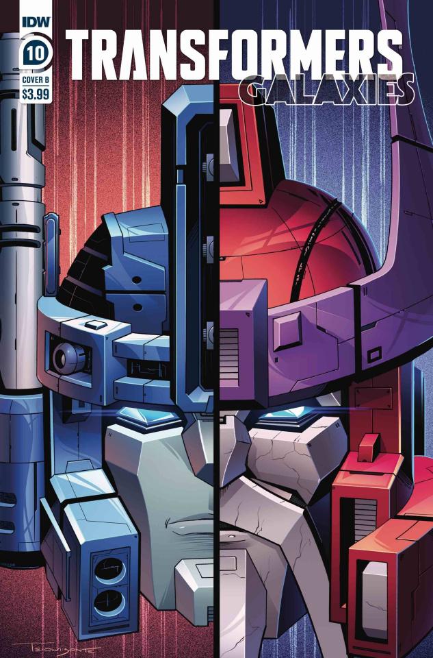 Transformers: Galaxies #10 (Deer Cover)