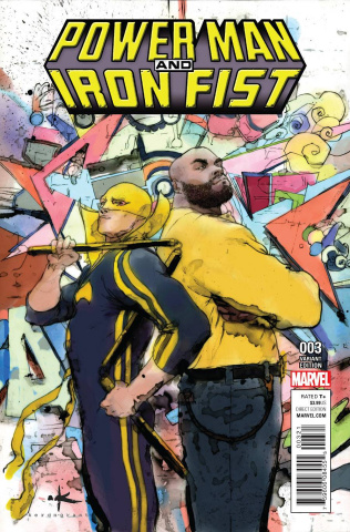 Power Man & Iron Fist #3 (Grant Cover)