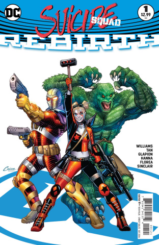 Suicide Squad: Rebirth #1 (Variant Cover)