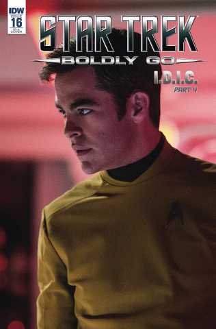 Star Trek: Boldly Go #16 (10 Copy Cover)