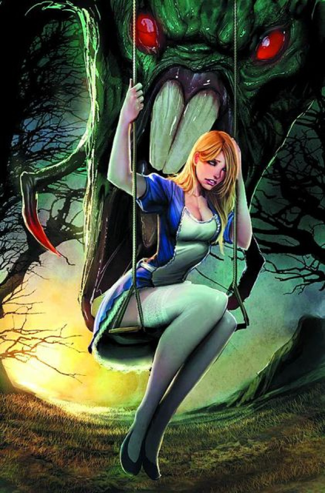 Grimm Fairy Tales: Wonderland Annual 2012 (Sejic Cover)