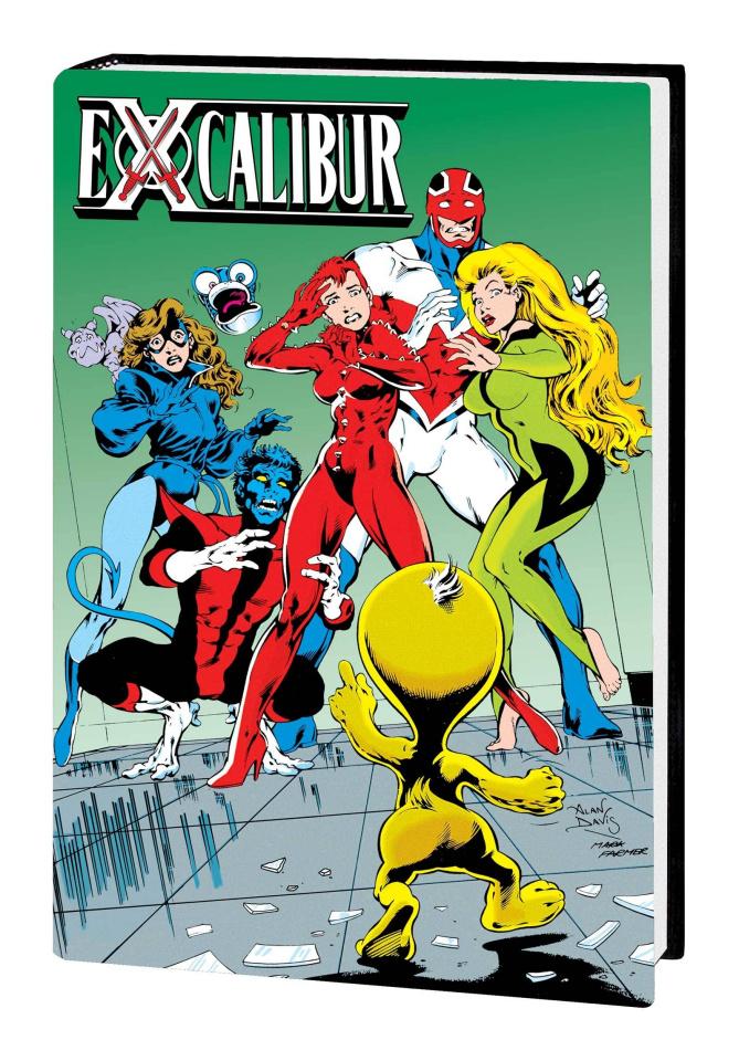 Excalibur Vol. 2 (Omnibus Davis Cover)