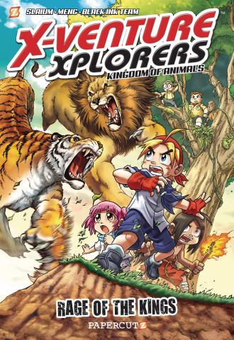 X-Venture Xplorers Vol. 1: Lion vs. Tiger