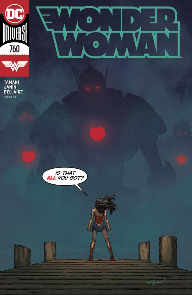 Wonder Woman #760 (David Marquez Cover)