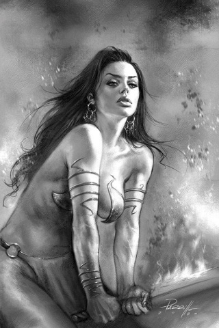Dejah Thoris #8 (50 Copy Parrillo B&W Virgin Cover)