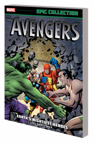 The Avengers Epic Collection: Earth's Mightiest Heroes